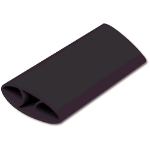 Fellowes 9480301 Silicone Black wrist rest