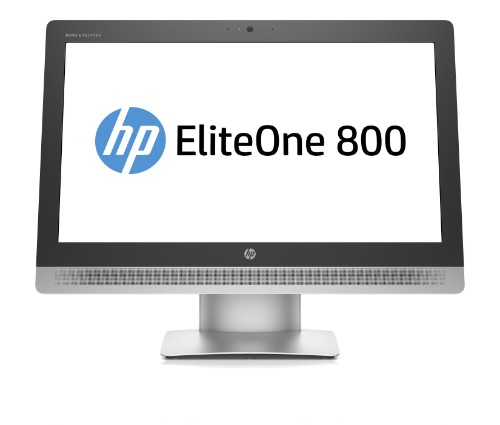 """HP EliteOne 800 G2 3.2GHz i5-6500 23"""" 1920 x 1080pixels Silver All-in-One PC"""