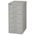 Bisley FF BISLEY 29/6 NON-LOCK MULTIDRAWER GREY
