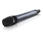 Sennheiser SKM 100-835 G3 Stage/performance microphone Wireless Black