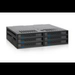 Icy Dock MB326SP-B disk array Rack (1U) Black