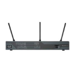 Cisco C897VA wireless router Gigabit Ethernet 3G 4G Black