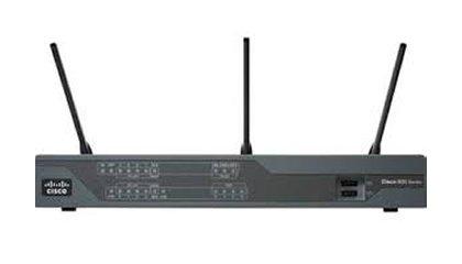 Cisco C897VA Gigabit Ethernet 3G 4G Black wireless router