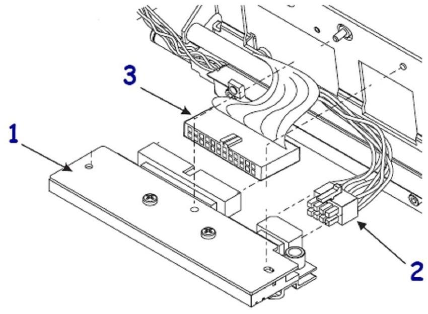 Zebra 096 Printhead 96XiIIIPlus 600 dpi cabeza de impresora