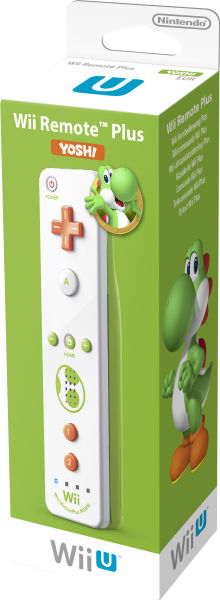 Nintendo Wii Remote Plus Yoshi