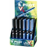 Pilot V5 HI TECPNT RB AST DSPY24 BLK/BLU