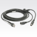 Datalogic CAB-436 KBW PS/2 Straight cable ps/2 2 m 2x 6-p Mini-DIN