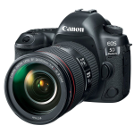 Canon EOS 5D Mark IV + EF 24-105mm f/4L IS II USM SLR Camera Kit 30.4 MP CMOS 6720 x 4480 pixels Black