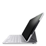 Belkin QODE Ultimate AutoWake Keyboard Case for iPad Air - White