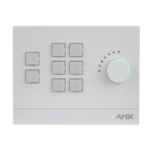 AMX FG2102-08-W push-button panel White