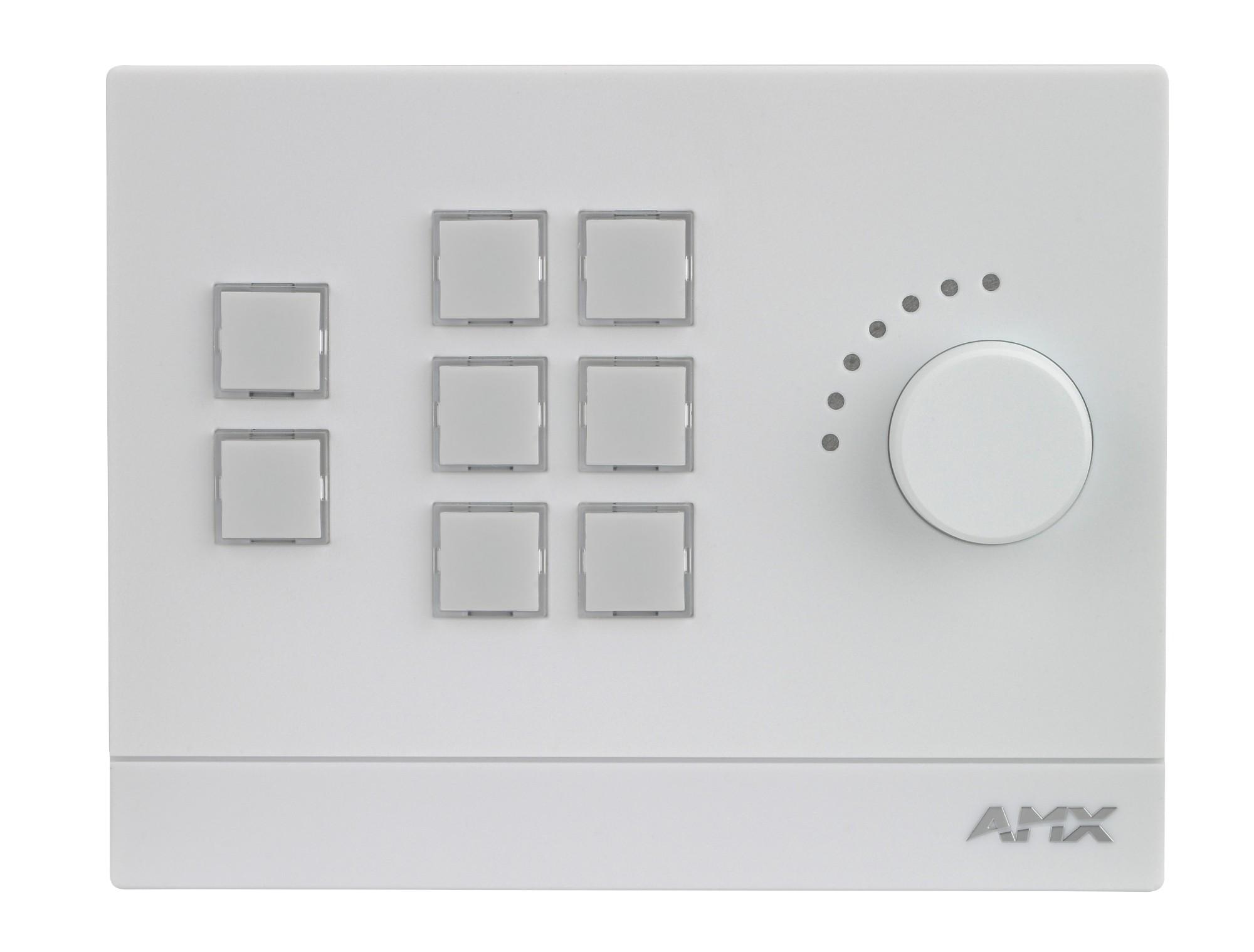 AMX FG2102-08-W White push-button panel
