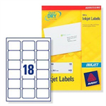Avery J8161-100 self-adhesive label White 1800 pc(s)