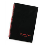 Black n' Red BLACK N RED RECYC A5 POLY W/BND NOTEBKS