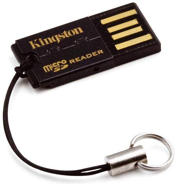 Kingston Technology FCR-MRG2 USB 2.0 Black card reader