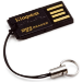 Kingston Technology FCR-MRG2 lector de tarjeta Negro USB 2.0