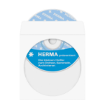 HERMA CD/DVD pockets made of paper, white, with adhesive dot 100 pcs