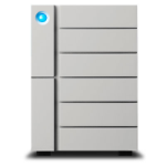 LaCie 6big Thunderbolt 3 disk array 60 TB Desktop Silver