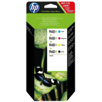HP C2N93AE (940XL) Ink cartridge multi pack, 2.2K pages, Pack qty 4