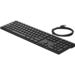 HP 320K keyboard USB QWERTY English Black