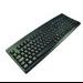 2-Power KEY1001ES USB Spanish Black keyboard