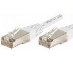 EXC 853815 networking cable 5 m Cat6 F/UTP (FTP) White