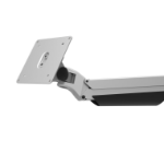 "Maclocks 330REACH 30"" Clamp Silver flat panel desk mount"