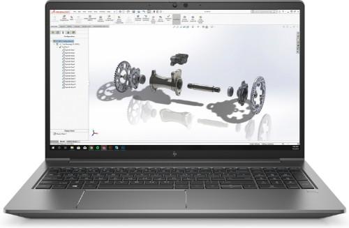 "HP ZBook Power G7 Mobile workstation 39.6 cm (15.6"") 1920 x 1080 pixels 10th gen Intel® Core™ i7 16 GB DDR4-SDRAM 512 GB SSD NVIDIA Quadro T1000 Wi-Fi 6 (802.11ax) Windows 10 Pro Silver"