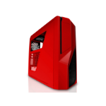 NZXT Phantom 410 Midi-Tower Red computer case