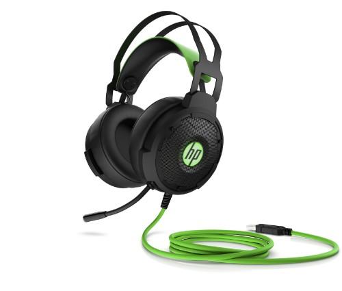 HP 600 Headset Head-band Black, Green