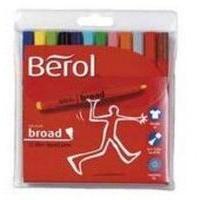Berol S0375970 felt pen Multicolor 42 pc(s)