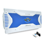 Pyle 8 channel marine amplifier