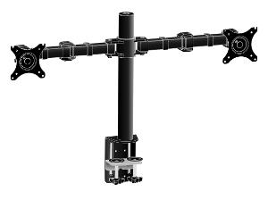 "iiyama DS1002C-B1 30"" Clamp Black flat panel desk mount"