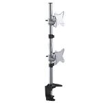 Astrotek Monitor Stand Desk Mount 43cm Arm for Dual Screens 13'-34' 10kg 15° tilt 180° swivel 360° rotate VES