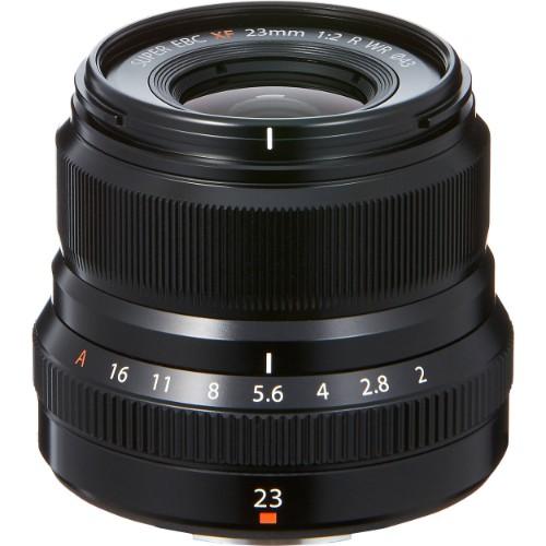 Fujifilm FUJINON XF23mm F2.0 R WR Black