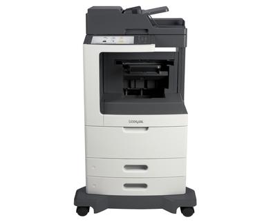 Lexmark MX810dfe 1200 x 1200DPI Laser A4 52ppm Black,Grey multifunctional