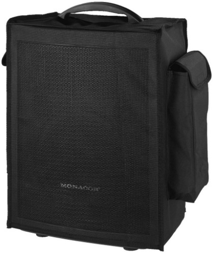 Monacor TXA-800BAG audio equipment case Cover Amplifier Synthetic Black