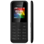 "Nokia 105 1.4"" 69.6g Black Entry-level phone"