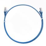 8WARE CAT6 Ulta Thin Slim Cable 0.25m / 25cm - Blue Color Premium RJ45 Ethernet Network LAN UTP Patch Cord
