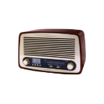 Sunstech RPR4000 radio Personal Analógica Madera