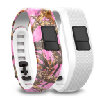 Garmin 010-12452-32 activity tracker band Pink,White