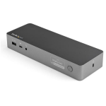 StarTech.com USB-C & USB-A Dock - Hybrid Universal Laptop Docking Station with 100W Power Delivery - Dual Monitor 4K 60Hz HDMI & DisplayPort - 4x USB 3.1 Gen 1 Hub, GbE - Windows & Mac