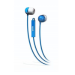 Maxell 190301 In-ear Binaural Wired Blue mobile headset