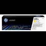 HP 201X Origineel Geel 1 stuk(s)