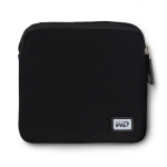 Western Digital WDBDRF0000NBK-WASN Sleeve case Neoprene Black storage drive case