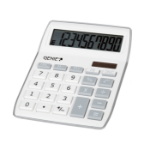Genie 840 S calculator Desktop Display Grey, White