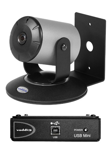 Vaddio WideSHOT SE QMini System video conferencing system Personal video conferencing system 2.4 MP Ethernet LAN