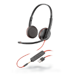 Plantronics Blackwire 3225 Binaural Head-band Black
