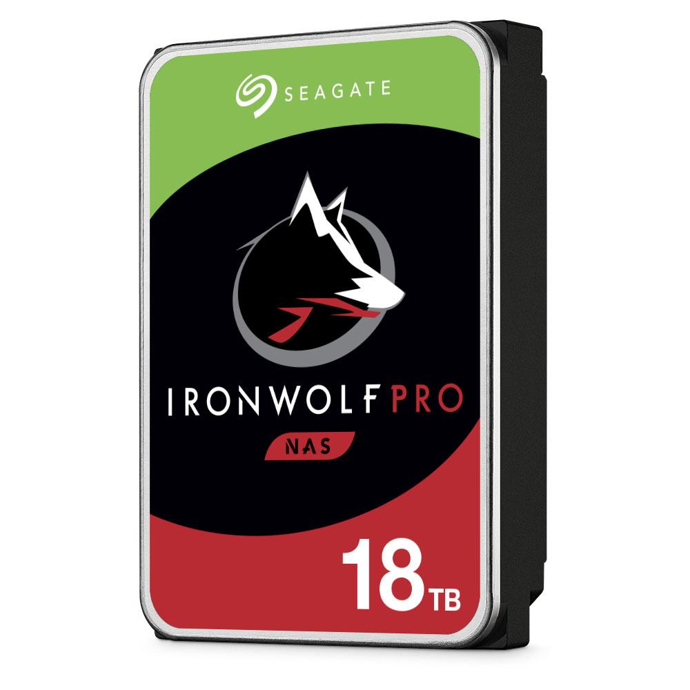 "Seagate IronWolf Pro ST18000NE000 disco duro interno 3.5"" 18000 GB Serial ATA III"