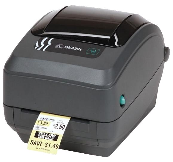 Zebra GK420d label printer Direct thermal 203 x 203 DPI Wired