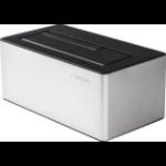 Freecom mDOCK 3.0 USB 3.0 (3.1 Gen 1) Type-A Black, Silver